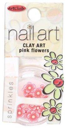 Sally Beauty Art Club Clay Nail Art Pink Flowers