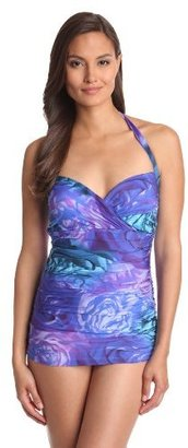 Gottex Women's Clemence Molded-Cup Swim Dress