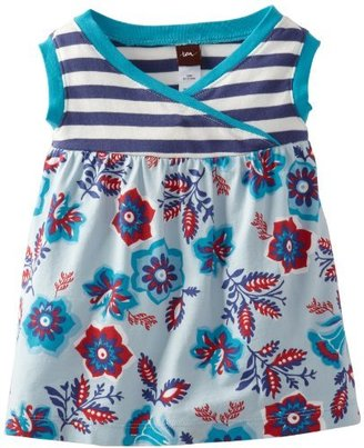 Tea Collection Baby-Girls Infant Sea Gypsy Wrap-neck Tank Dress