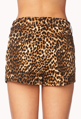 Forever 21 Wild Thing Studded Shorts