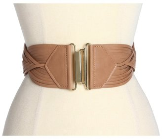 Vince Camuto Woven Hook Closure (Chocolate) - Apparel