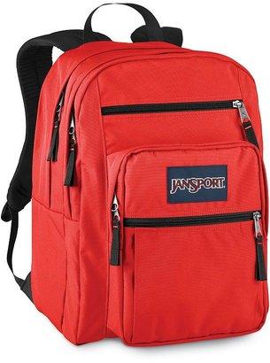 JanSport big student red backpack
