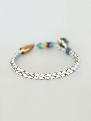 Kris Nations Yarborough Leather Bracelet