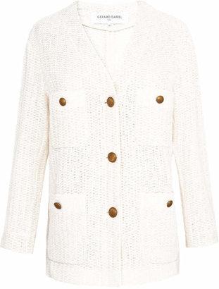 Gerard Darel Tweed-style Cotton Jacket