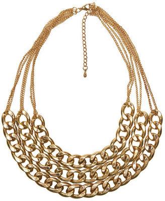 Arden B Three-Tier Chain-Link Necklace