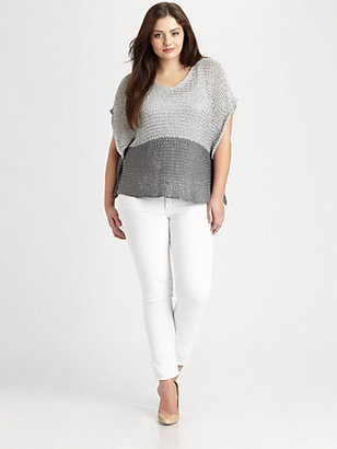 Eileen Fisher Eileen Fisher, Salon Z Open-Twist Top