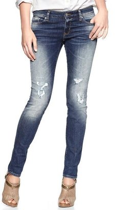 Gap 1969 Destructed Always Skinny Jeans