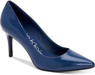 Calvin Klein Gayle Pointed-Toe Pumps Women Shoes