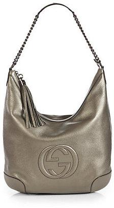 Gucci Soho Metallic Leather Chain Shoulder Bag
