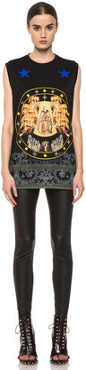 Givenchy Baroque Print Tank in Black