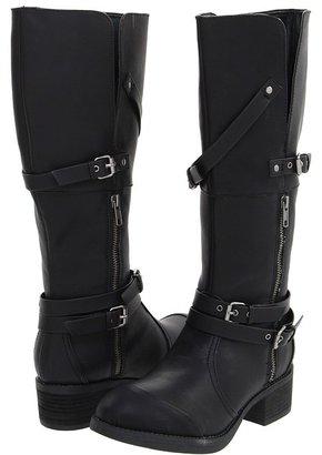 C Label Blasco-2 (Black) - Footwear