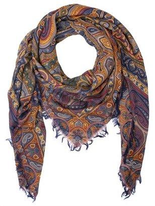 Etro Bombay Printed Wool & Silk Scarf
