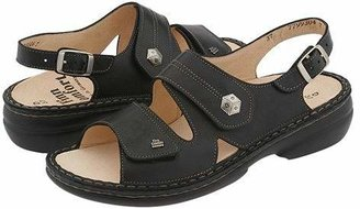 Finn Comfort Milos - 82560 (Black Leather) Women's Sandals