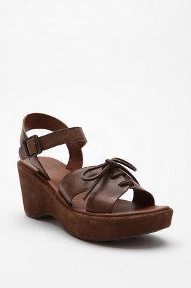 Urban Outfitters Kork-Ease Cynthia Lace Wedge