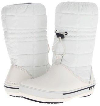 Crocs Crocband II.5 Winter Boot (White/Navy) - Footwear