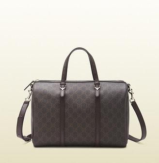 Gucci nice GG supreme canvas boston bag