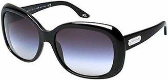 Ralph Lauren RL8087 Oversized Sunglasses, Shiny Black