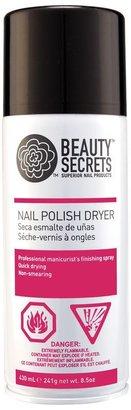 Nail polish dryer spray beauty secrets