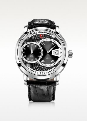 Lamborghini Tonino Saltarello Black Stainless Steel Watch