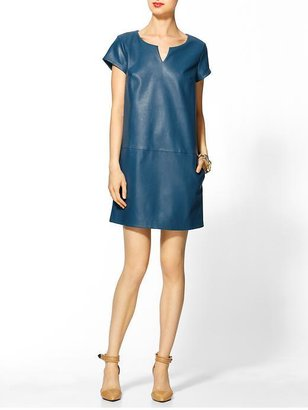 Marc by Marc Jacobs Tinley Road Vegan Leather Shift Dress