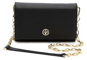 Tory Burch Robinson Wallet on a Chain