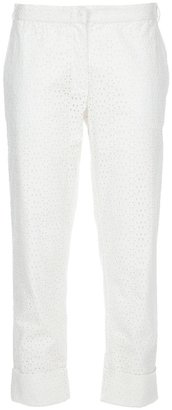 Joseph Broderie Anglaise trouser