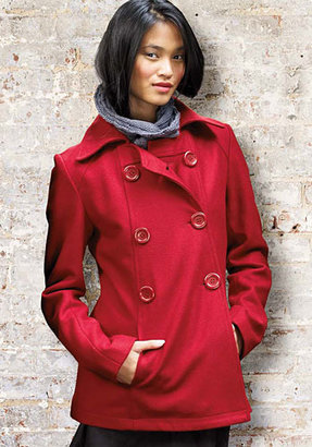 Alloy Forever Audrey A-Line Wool Coat