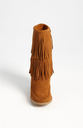 Minnetonka Double Fringe Boot