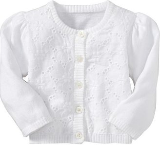 Old Navy Eyelet Lace-Trim Cardis for Baby