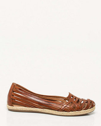 Le Château Leather Almond-toe Shoe