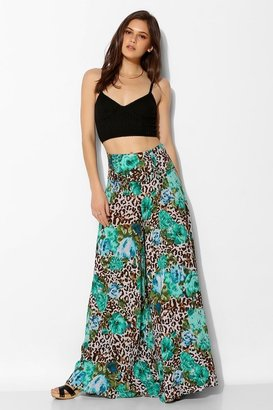 Urban Outfitters Staring At Stars Lace-Up Wide-Leg Pant