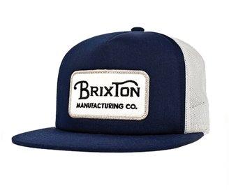 Brixton Route Mesh Cap - Navy / Cream - One Size