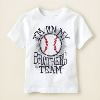 Children's Place Team brother graphic tee