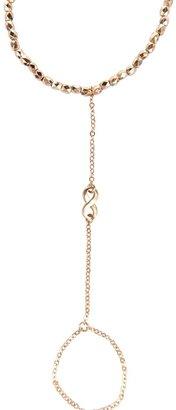 Style Tryst Infinity Finger Chain Bracelet
