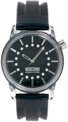 Moschino Ladies Watch with Black Dial