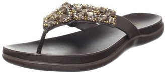 Kenneth Cole REACTION Women's Glam-a-thon Flat Sandal $26.83 thestylecure.com