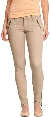 Old Navy Women's The Rockstar Zip-Pocket Skinny Pants