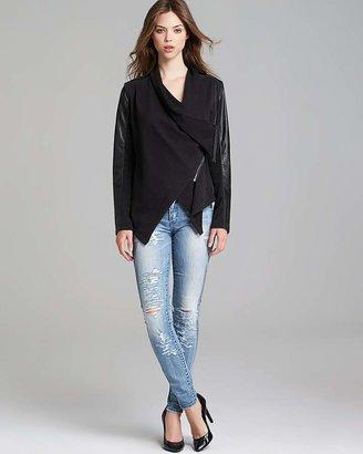 Blank NYC BLANKNYC Jacket - Faux Leather Asymmetric Zip
