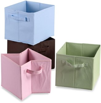 Bed Bath & Beyond Storage Decor Collapsible Tote in Pink