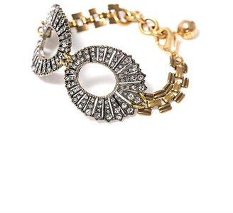 Lulu Frost Roma clear bracelet