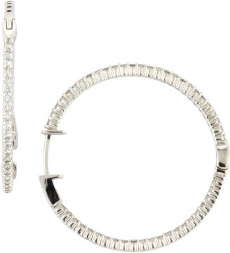 KC Designs In-Out Diamond Hoop Earrings