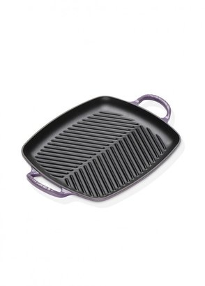 Le Creuset Signature Cast Iron Rectangular Grill 30cm Ultra Violet