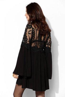Babydoll For Love & Lemons Isabella Bell-Sleeve Dress