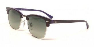 Ray-Ban Clubmaster 112871 Square Sunglasses,Top Shiny Havana & Violet,49 mm