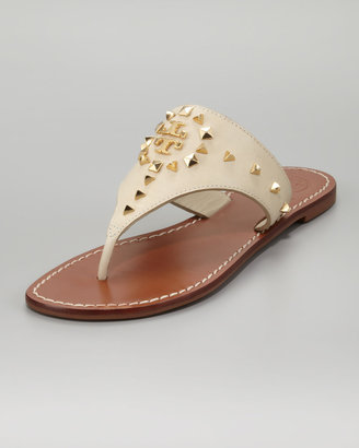Tory Burch Dale Studded Thong Sandal