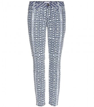 Mary Katrantzou Current/Elliott THE STILETTO PRINT SKINNY JEANS