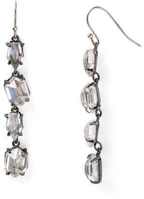 Alexis Bittar Crystal Linear Drop Earrings