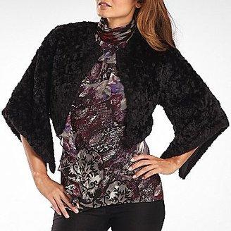 JCPenney Bisou Bisou® Cropped Faux Fur Jacket