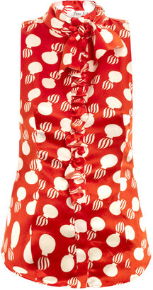 L'Wren Scott The Bomb ruffle blouse