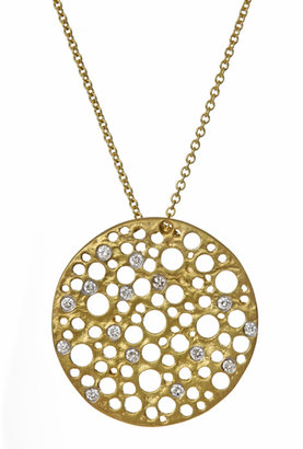 Meira T Max and Chloe Gold and Diamonds Bubble Necklace
